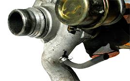 Avería: la válvula no actúa (turbos Standard de válvulas de presión)